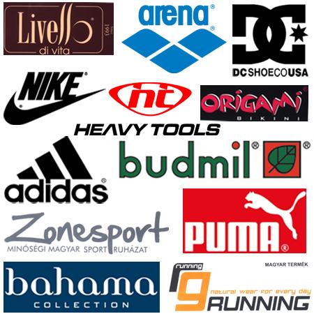 Sport shop márkák